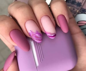 beauty, headphones, and nails image