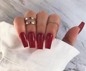 nails, beauty, and fashion image