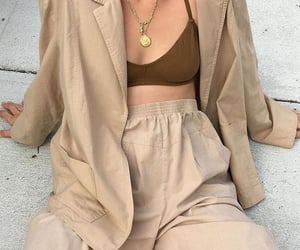 article, brown, and fashion image