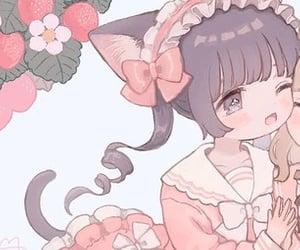 aesthetic, anime girl, and soft image