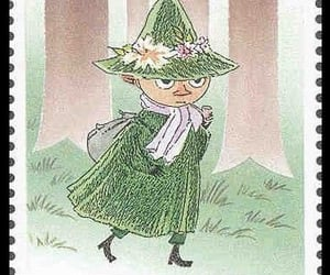 snufkin, stamp, and cute image