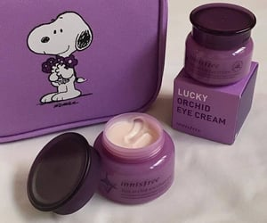 purple, aesthetic, and cream image