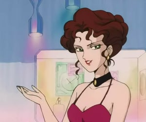 anime, retro, and woman image