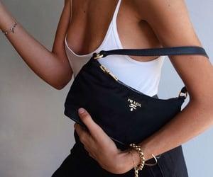 girl, blackbag, and italia image
