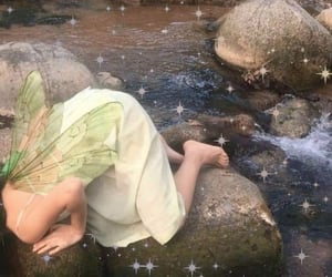 fairy, aesthetic, and green image