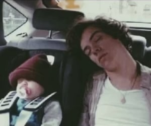 baby, sleeping, and one direction image