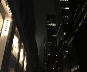 dark, city, and aesthetic image