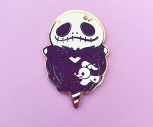 nightmare before christmas, pins, and disney pins image