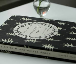 book, northanger abbey, and novels image