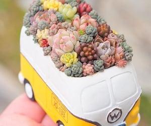 hippie, hippie van, and cute image