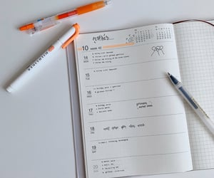 diary, journal, and lettering image