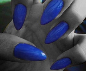 blue, nails, and claws image