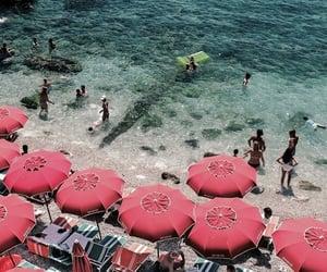 beach, capri, and holiday image