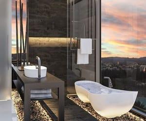 apartment, bathroom, and elegant image