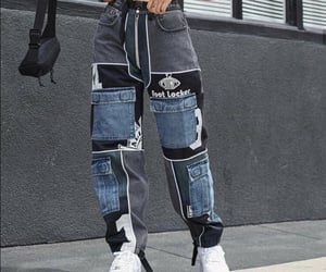 jeans, moda, and nike image