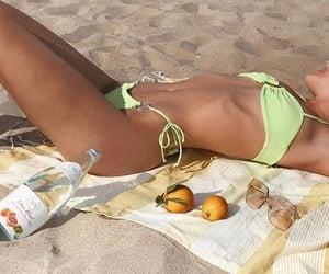 beach, body, and bikini image