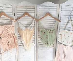 fashion, lingerie, and vintage image