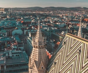 architecture, austria, and cathedral image