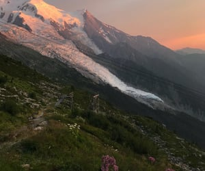 mountains, nature, and aesthetic image