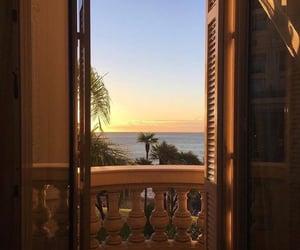 sunset, aesthetic, and window image
