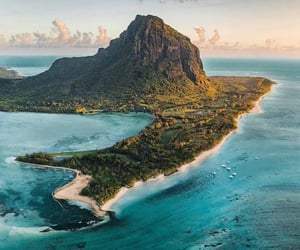 belleza, mar, and mauritius image