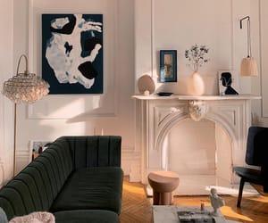 art, mantel, and home inspo image