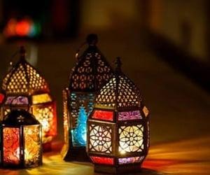 Ramadan, فانوس, and رَمَضَان image