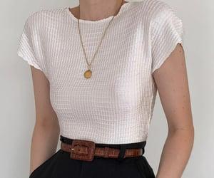 belt, fashion, and girl image