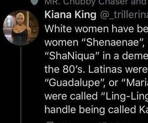 black women, twitter, and white women image