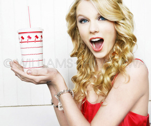 blond, Taylor Swift, and blue eyes image