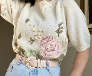aesthetic, amazing, and blouse image