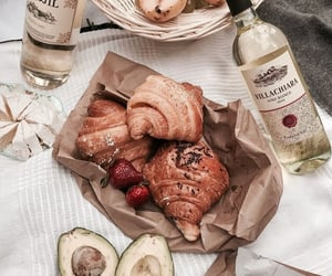 food, fruit, and wine image