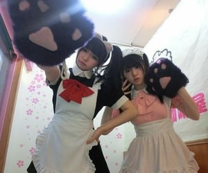 maid, japan, and cute image