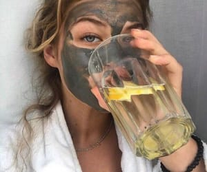 article, homemade mask, and face mask image