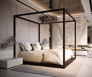 beautiful, bedroom, and design image