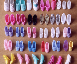 shoes and barbie image