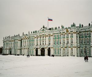 russia, snow, and building image