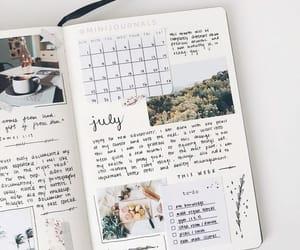 bullet journal, art, and journal image