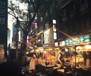 street life, evening, and my photography image
