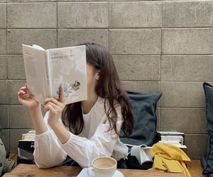 book, blanch, and cafe image