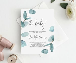 etsy, baby shower invite, and printable template image