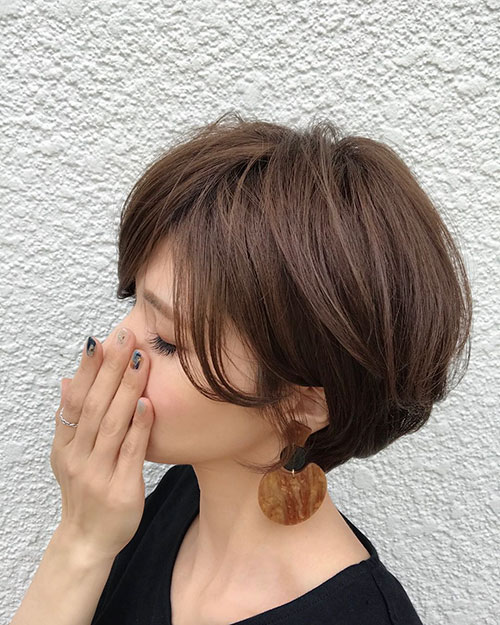 Side View Natural Hair Shared By Short Haircuts