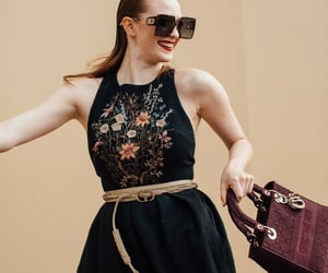 belleza, gafas, and outfits image