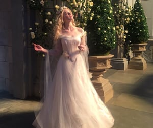 Elle Fanning, maleficent, and princess image