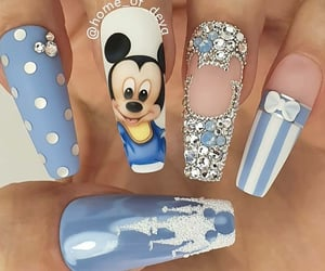 beauty, blue, and disney image