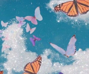 butterfly, hope, and freedom image