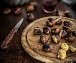 chestnut, chestnuts, and delicious image