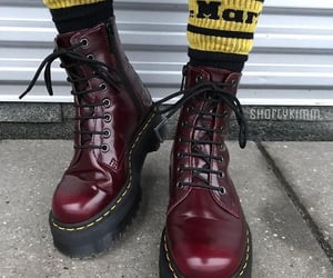 fashion, shoes, and drmartens image