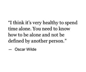 quotes, alone, and healthy image
