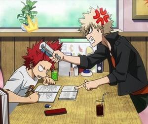 anime, kirishima, and red riot image